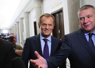 Poland's Independence and German BND Intelligence. Pawel Gras and Donald Tusk.