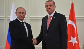 Erdogan with Putin