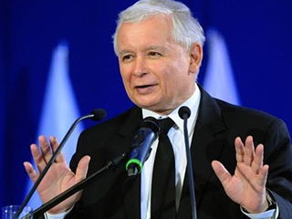 Jaroslaw Kaczynski, Law & Justice Party, Poland.