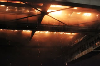 Did Russian Intelligence Set the Lazienkowski Bridge in Warsaw Ablaze?