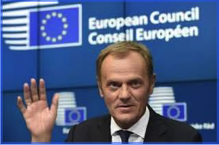 "The former prime minister of Poland, Donald Tusk, might not necessarily be re-elected as President of the European Council.  It seems he may not become ""a president of Europe"