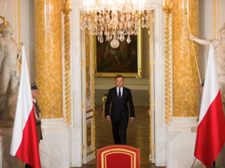 Andrzej Duda, President of the Republic of Poland.