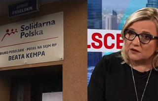A man who set on fire the office of Minister Kempa was incited to violence by TVN